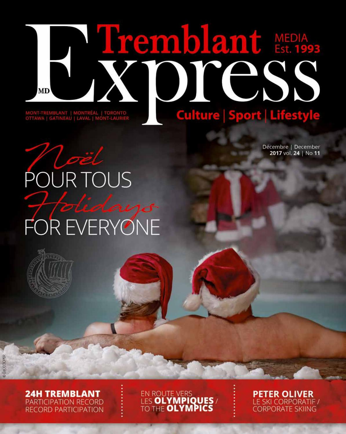 Tremblant Express Dec 2017 By Tremblant Express Issuu