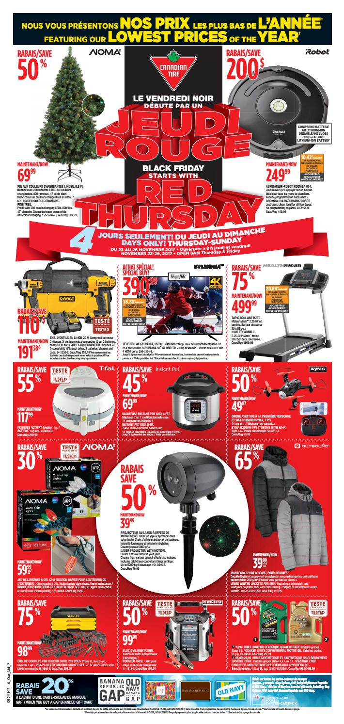 Pouf Exterieur Canadian Tire Publisac 2017 Flyer Ctc Wk48 Bil 7 By Salewhale Issuu
