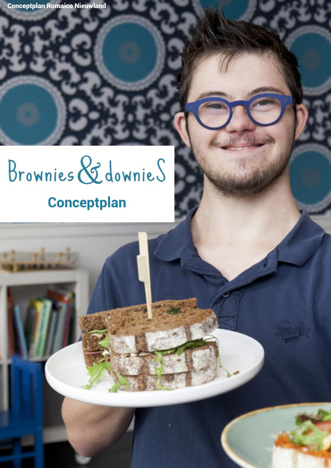 Downies In De Keuken Conceptplan Brownies Downies By Romaico Nieuwland Issuu