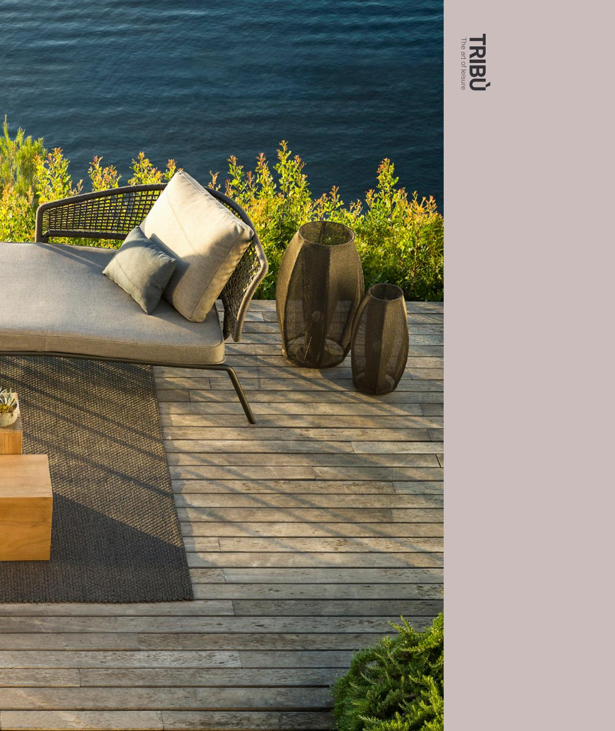 Vin Les Meridiennes Tribù Catalogue Outdoor Furniture 2018 By Tribu Outdoor