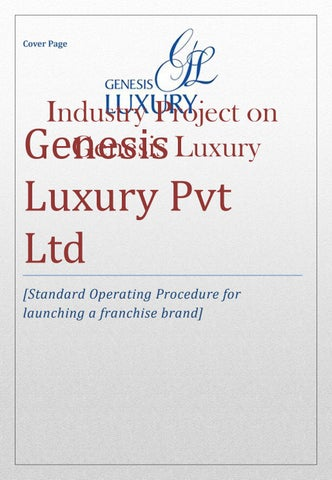 Sop genesis right format arrangement by vrinda sah - issuu - copy blueprint education noida