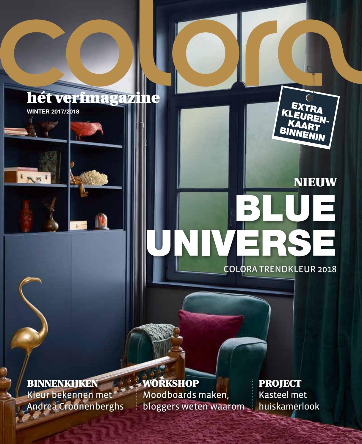 Slaapkamer Ral 9001 Coloramagazine Winter 2017 2018 By Colora De Verfwinkel Issuu
