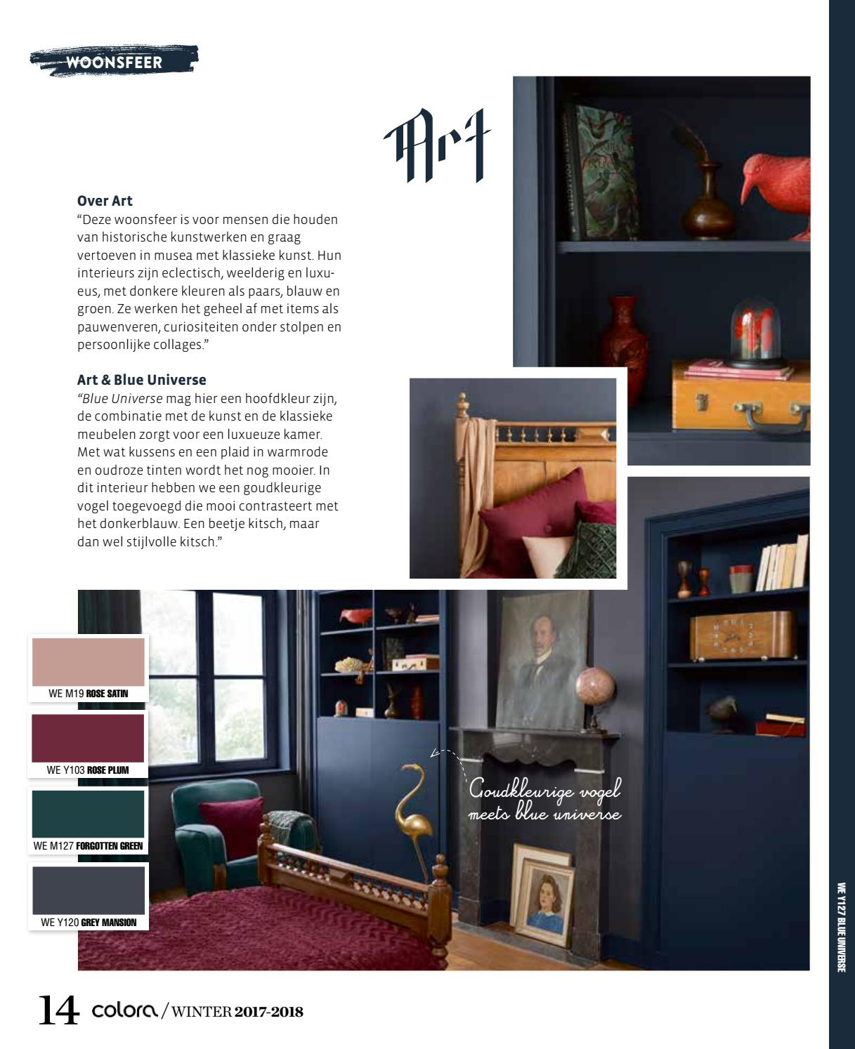 Eclectisch Interieur 2017 Coloramagazine Winter 2017 2018 By Colora De Verfwinkel Issuu