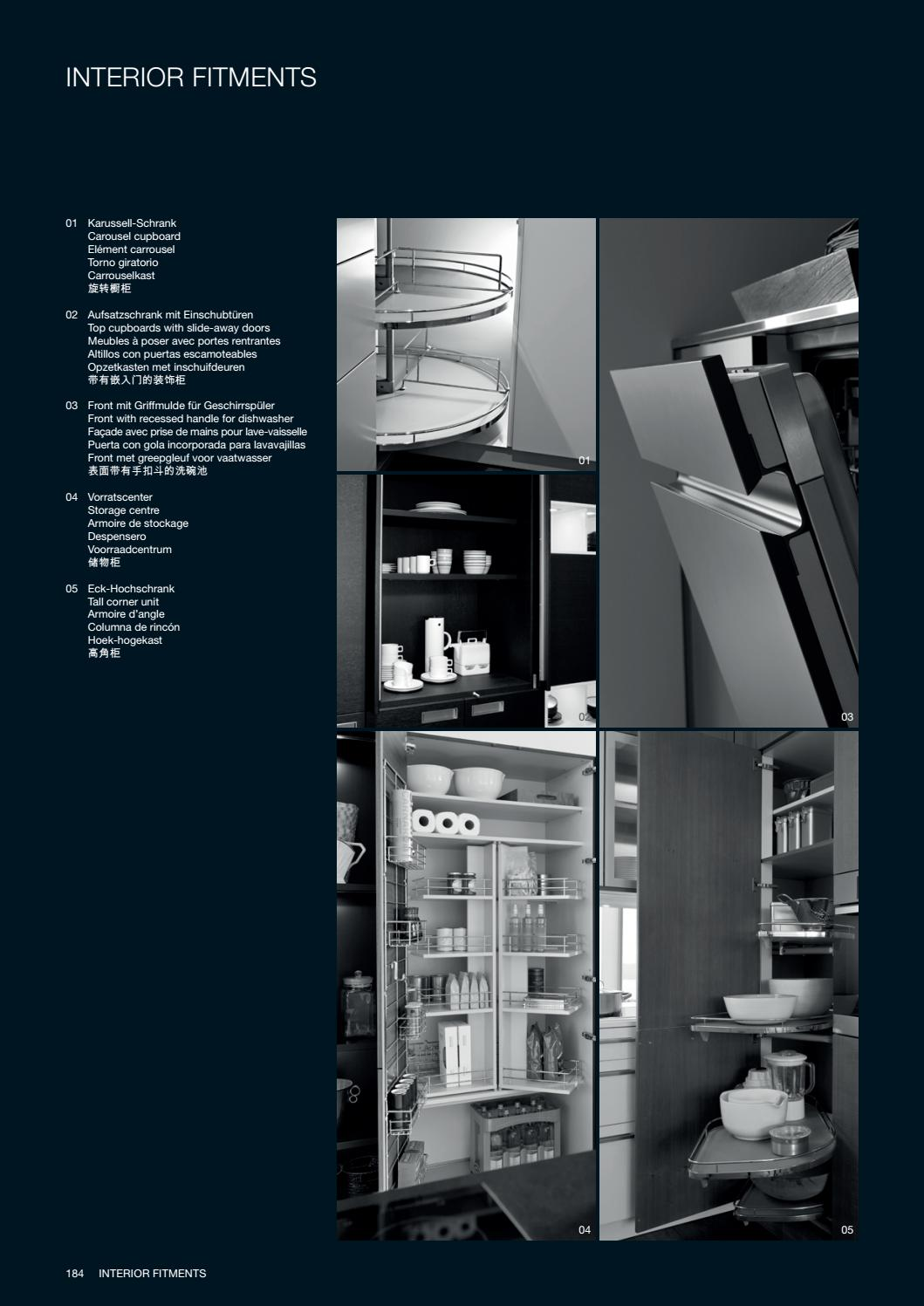Eckhochschrank Divine Design Center Leicht Modern Kitchens 17 Catalog By