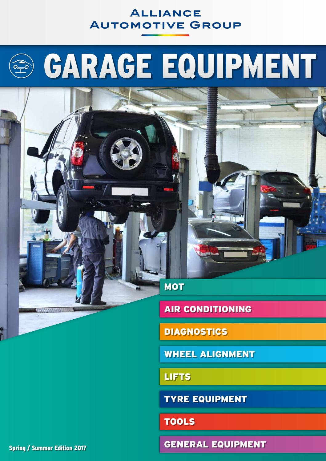 Domestic Garage Car Lift Alliance Automotive Garage Equipment Spring Summer 2017