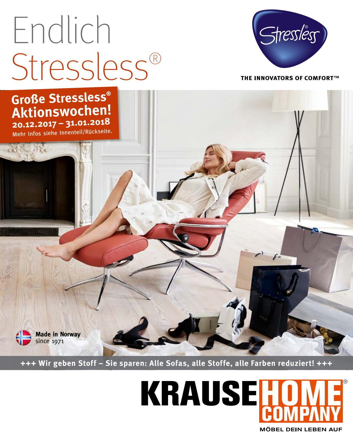 Stressless Lederfarben Krause Home Company Stressless Prospekt Winter 2017 By Nldm Issuu