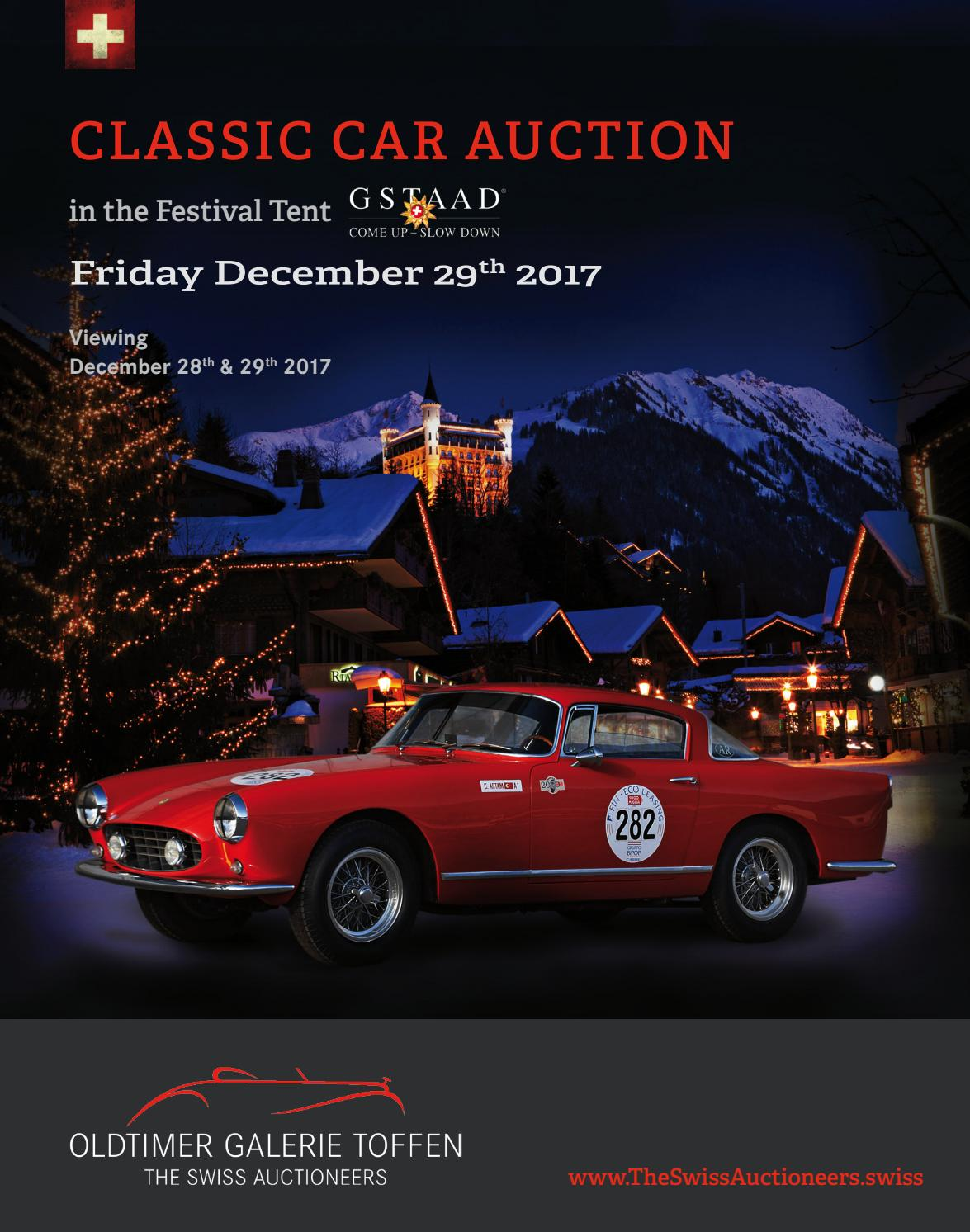 Store Vertical Exterieur Coupe Vent Gstaaad Classic Car Auction December 29th 2017 By Oldtimer