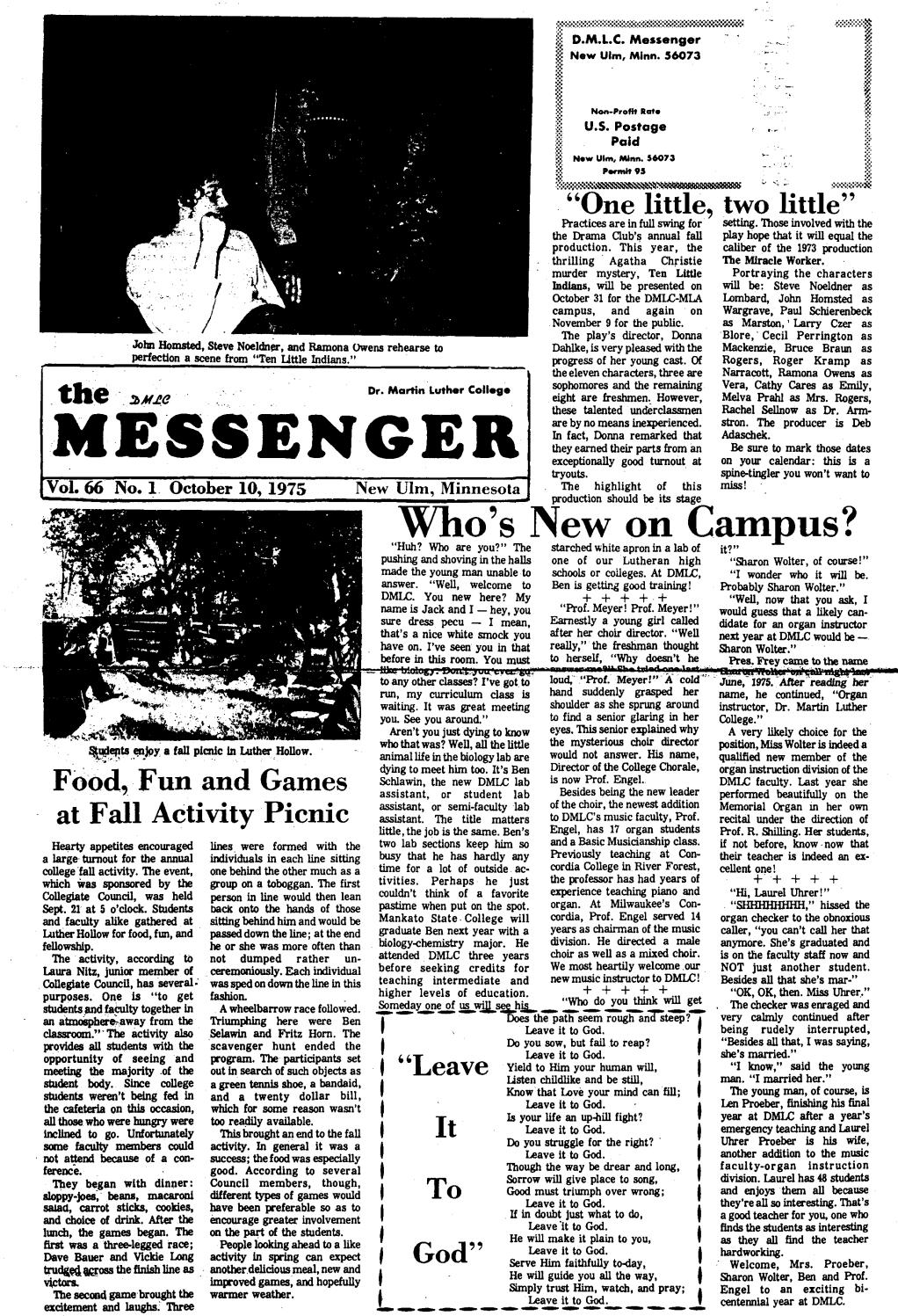 Rip Keith Rathbun Former Scene Publisher Scene And Heard 1975 1976 Dmlc Messenger Vol 66 By Martin Luther College Issuu