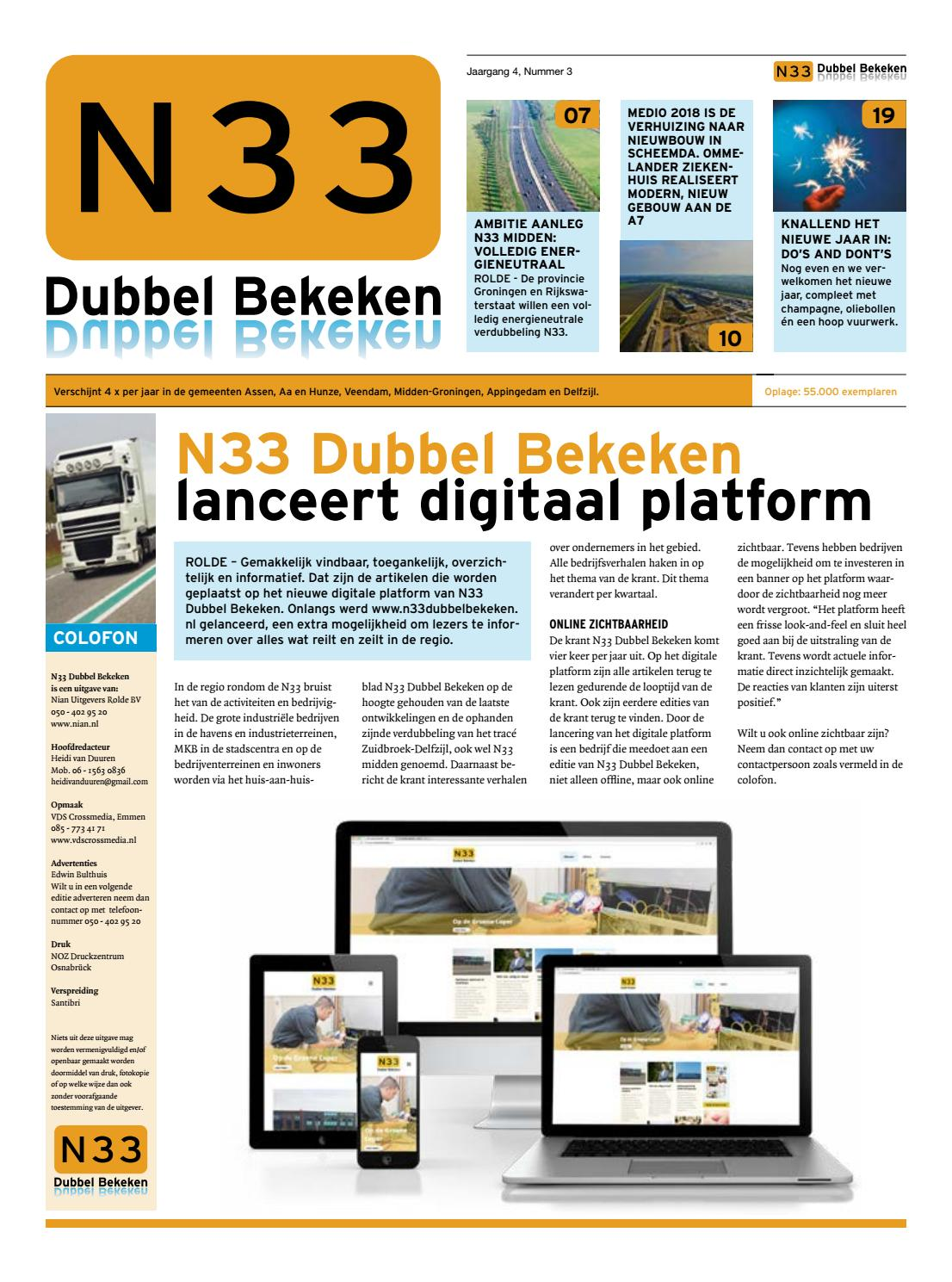 Aannemersbedrijf E.a. Gordijn N33 Winter 2017 By Online Publicaties Issuu