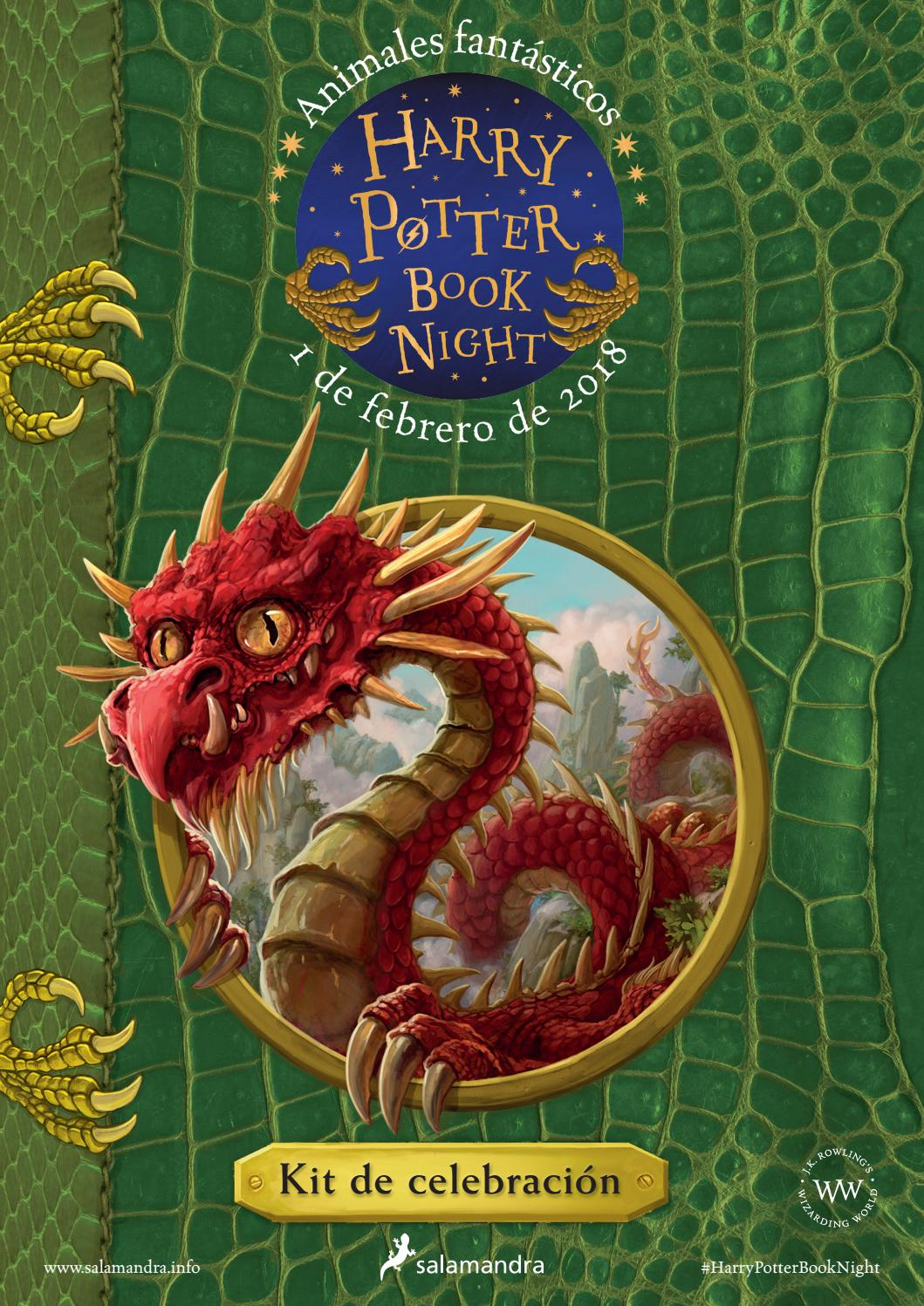 Paginas De Los Libros De Harry Potter Harry Potter Book Night 2018 By Ediciones Salamandra Issuu