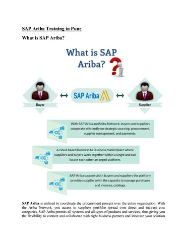 SAP Ariba Training Material by amrutasapvits - issuu