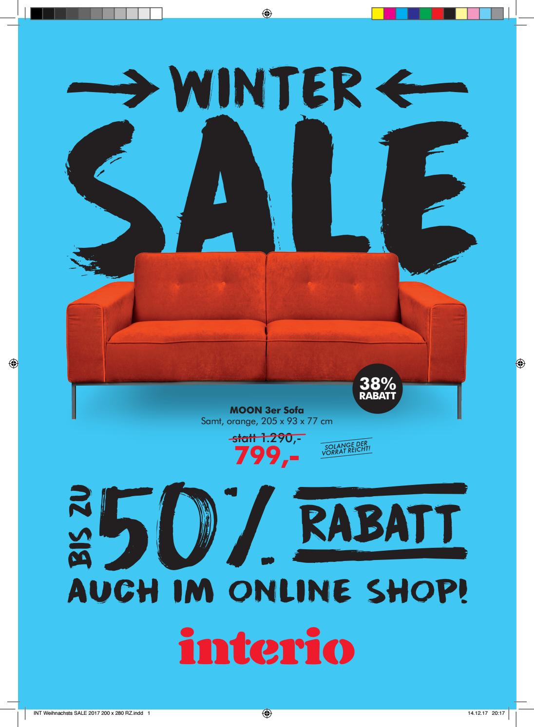 Interio Sofa Samt Winter Sale By Interio Issuu