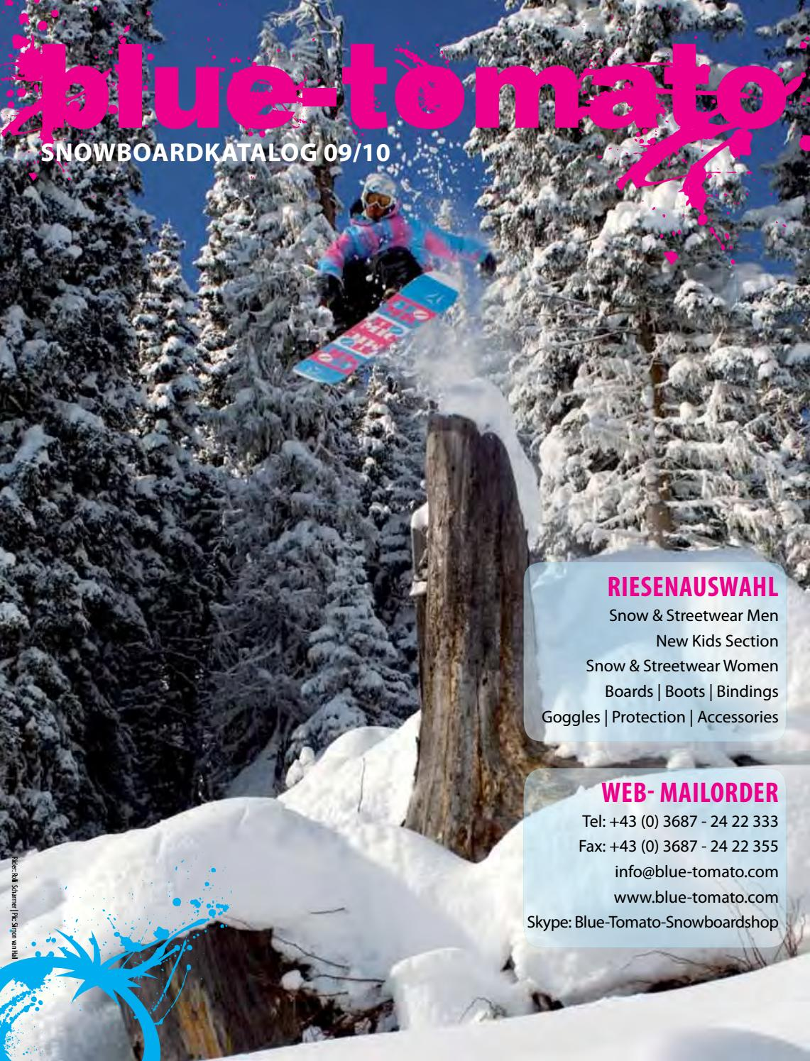 Blue Tomato Snowboardkatalog 2009 10 By Blue Tomato Issuu