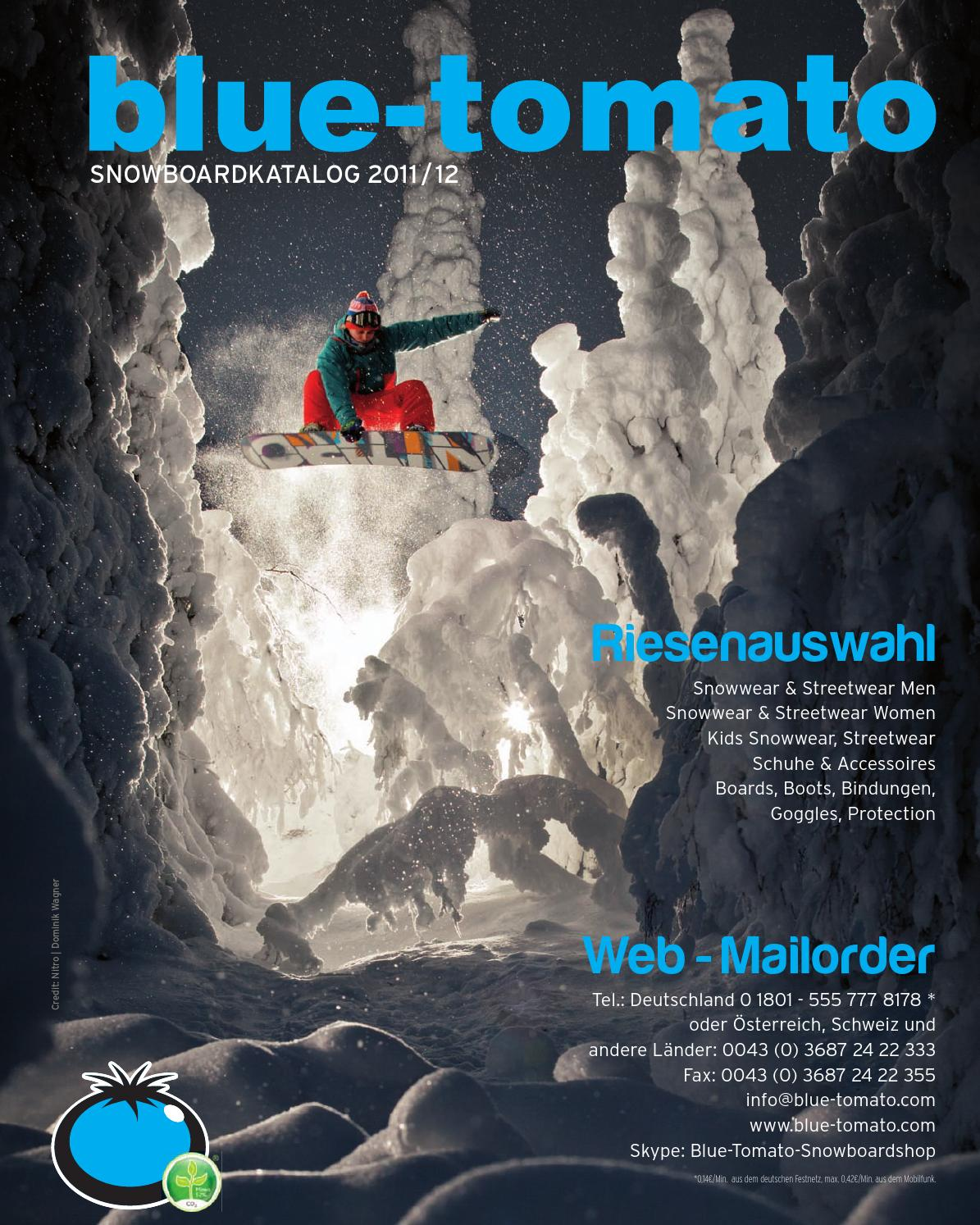 Blue Tomato Snowboardkatalog 2011 12 By Blue Tomato Issuu