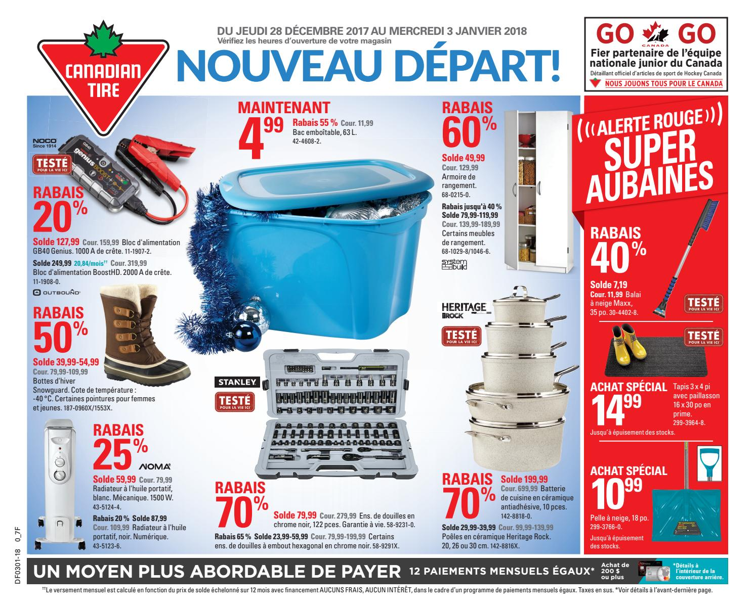 Pouf Exterieur Canadian Tire Publisac 2017 Flyer Ctc Wk53 Fr 7f By Salewhale Issuu