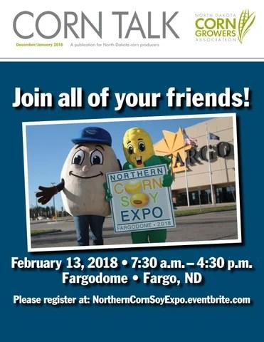 December 2017/January 2018 CornTalk Newsletter by North Dakota Corn