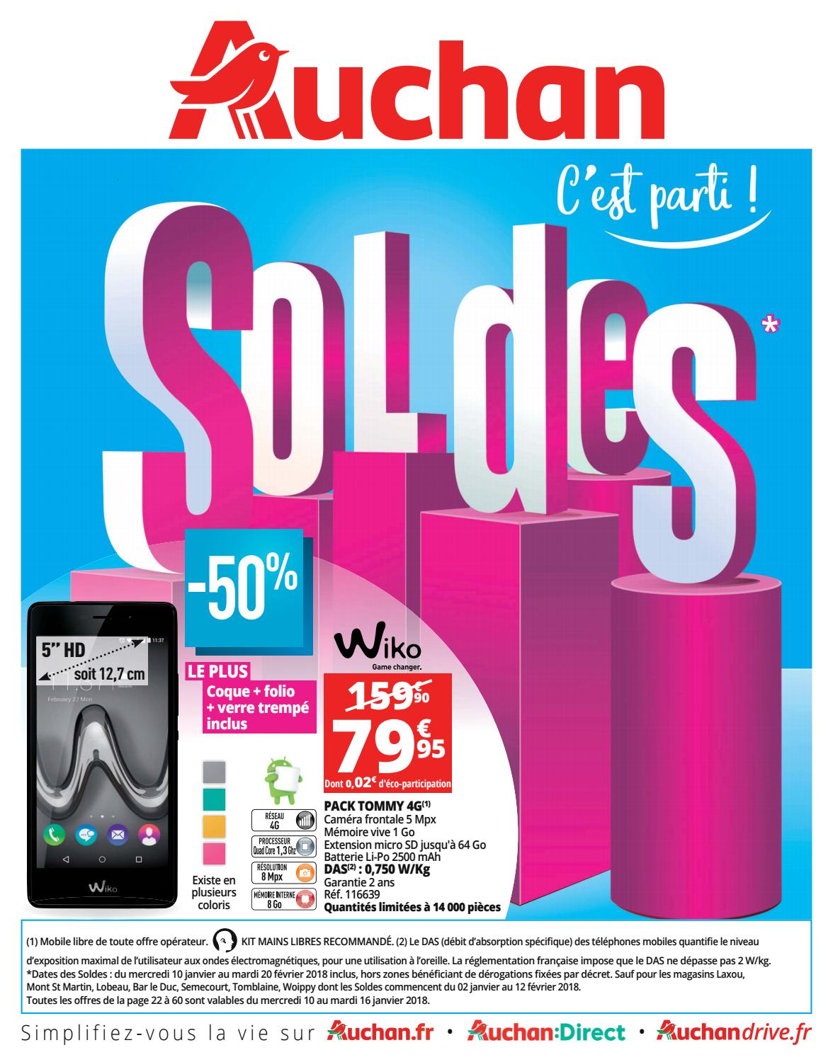Meuble Auchan Sarcelles Catalogue Soldes 2018 Auchan By Bonsplans Issuu