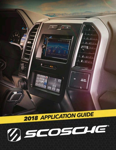 2018 SCOSCHE Application Guide by Scosche Industries - issuu