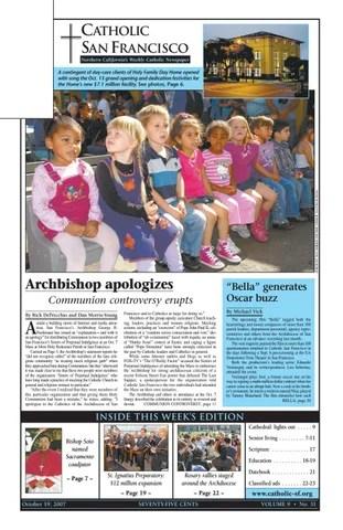 October 19, 2007 by Catholic San Francisco - issuu