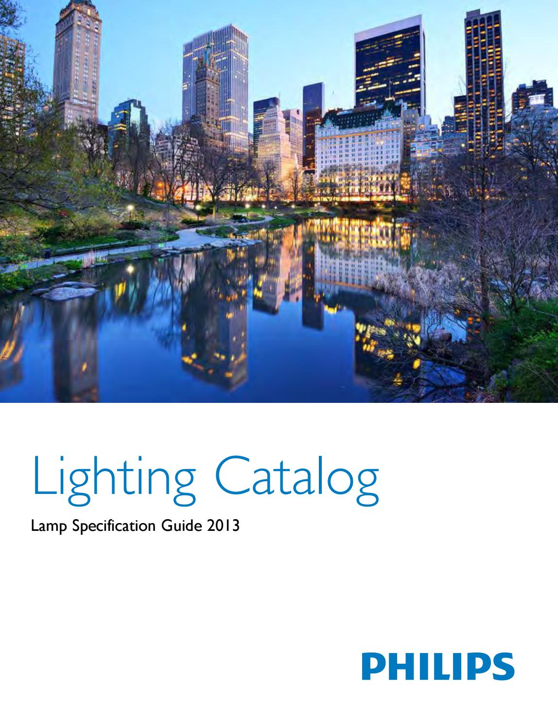 Philips Softone Flame Phillips Lamp Specification Catalog By Led World Issuu
