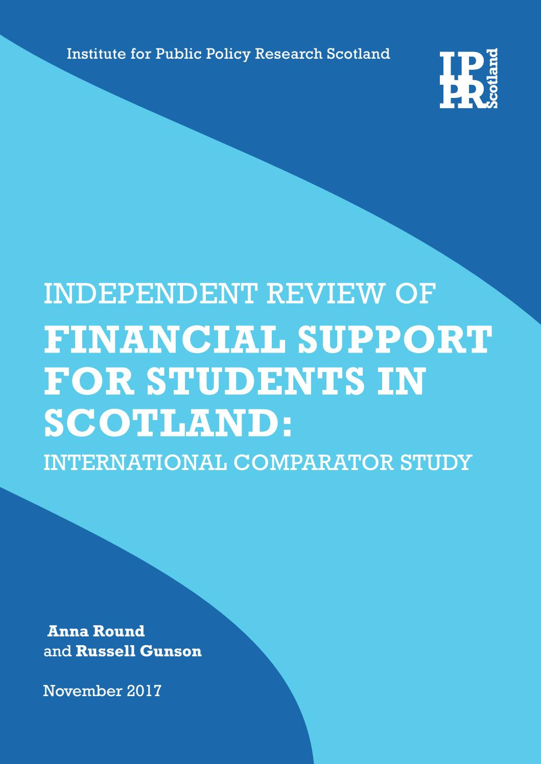 Arbeitsagentur Indeed Independent Review Of Financial Support For Students In Scotland
