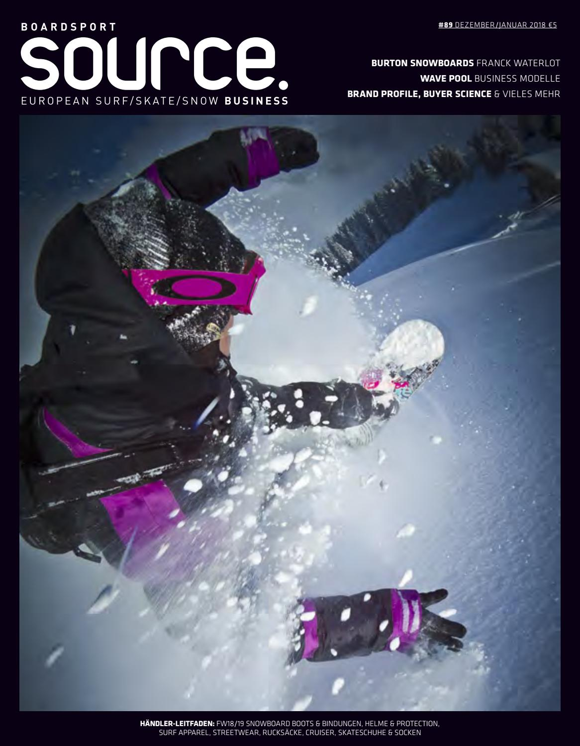 Future Pool Abdeckung Protect Boardsport Source Issue 89 December January 2018 German By
