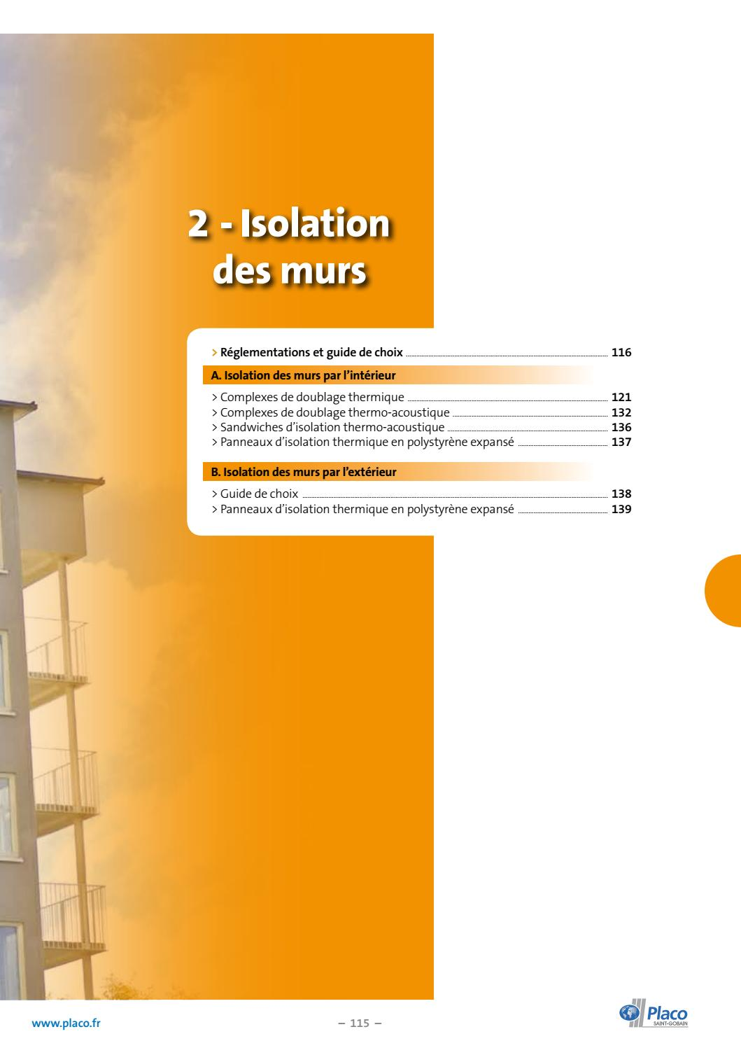 Isolation Exterieur Design Offre100 2018 By Placo Issuu