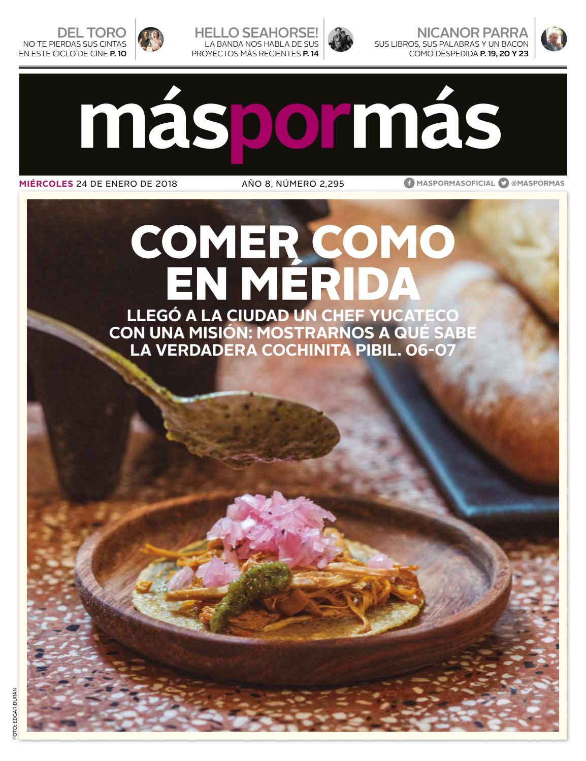 Comida Yucateca Libros 24 Enero Issuu By Máspormás Issuu