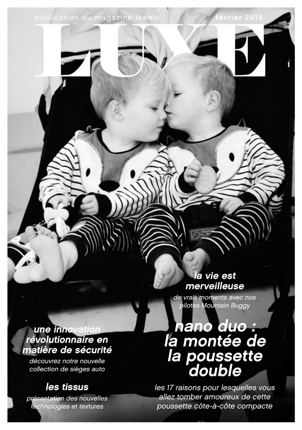 Mountain Buggy Duet Pneu Luxe Publication Du Magazine Iconic By Mountain Buggy Issuu