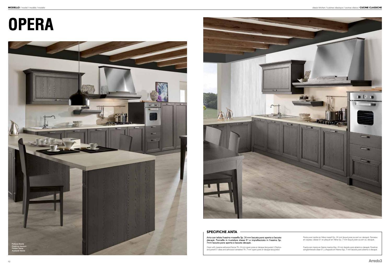 Cucina Classica Arredo 3 | Cappa Cucina Classica Tqd3 Verona Arredo3 ...
