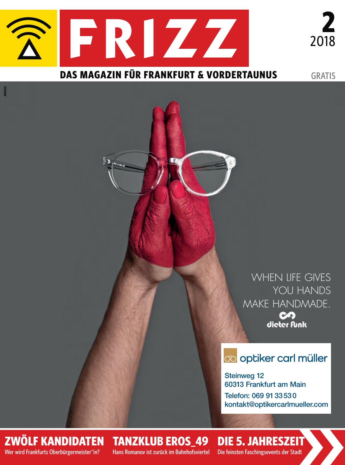 Test Optiker 2015 Frizz Das Magazin Frankfurt Februar 2018 By Frizz Frankfurt