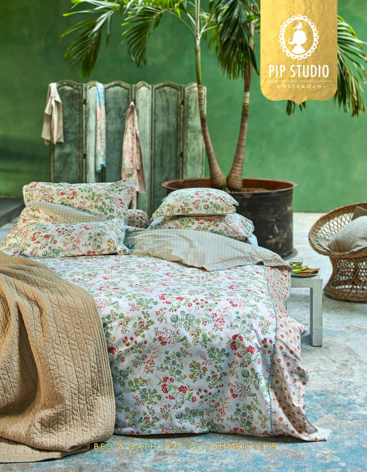 Bettwäsche Pip Sale Pip Studio Bed Bath Spring Summer 2018 By Pip Studio Issuu