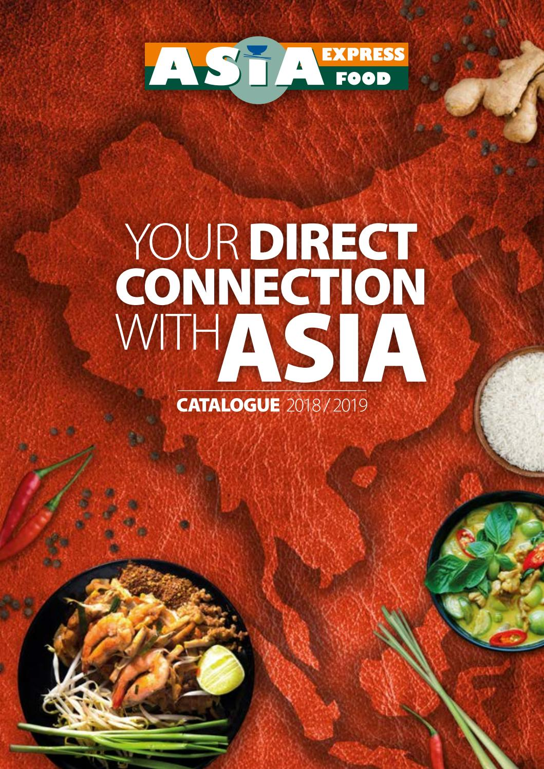 My Asia Küche Asia Express Food Asia Catalogue 2018 2019 By Gbu Printmedia Issuu