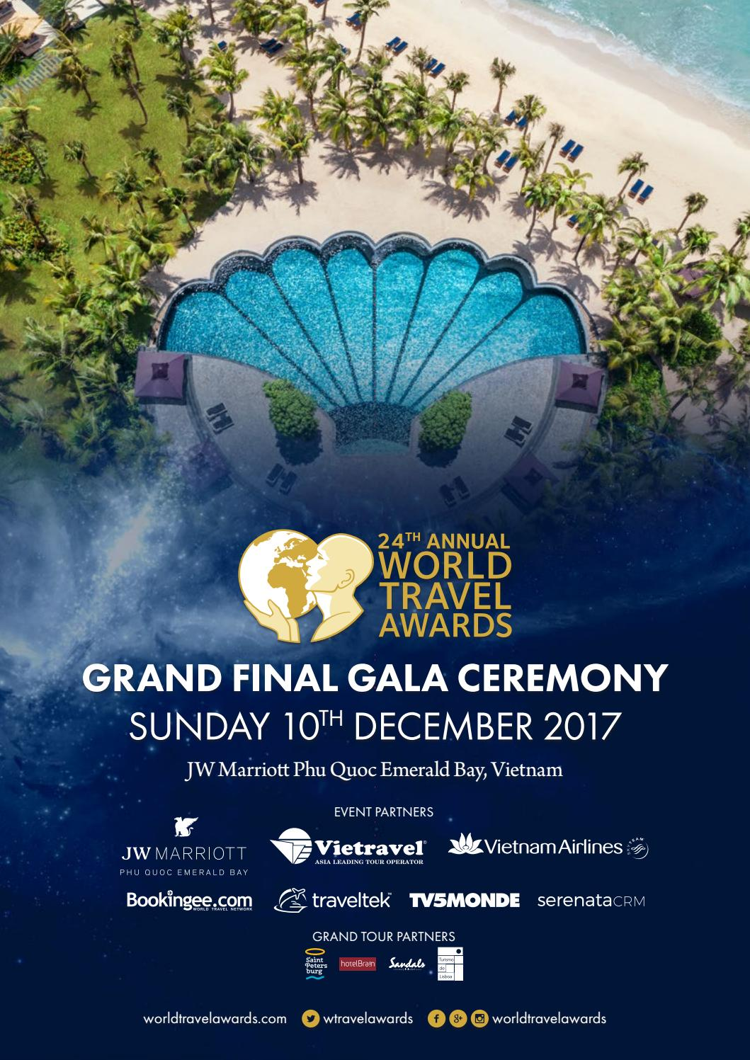 Maisons Du Monde Discount Code World Travel Awards Grand Final Gala Ceremony 2017 By World Travel