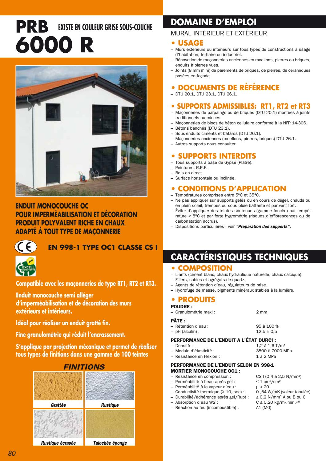 Enduit Facade Quartz Fp 6000 R By Bigmatfrance Issuu