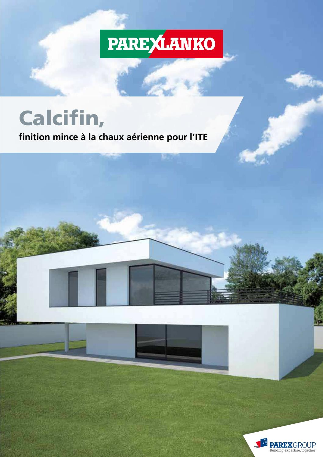 Enduit Facade J40 Brochurecalcifin By Bigmatfrance Issuu