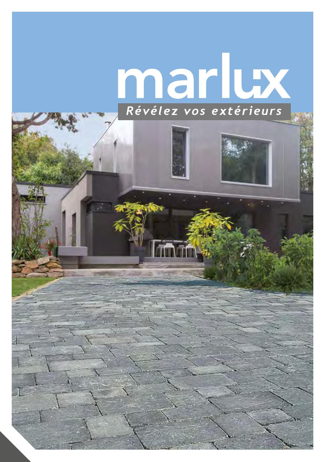Dalle Exterieur Marlux Catalogue Marlux 2017 By Bigmatfrance Issuu