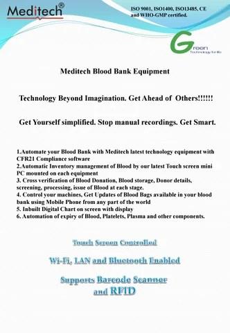 Blood bank equipment by meditech - issuu