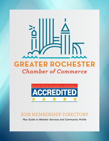 2018 Greater Rochester Chamber of Commerce Membership Directory by