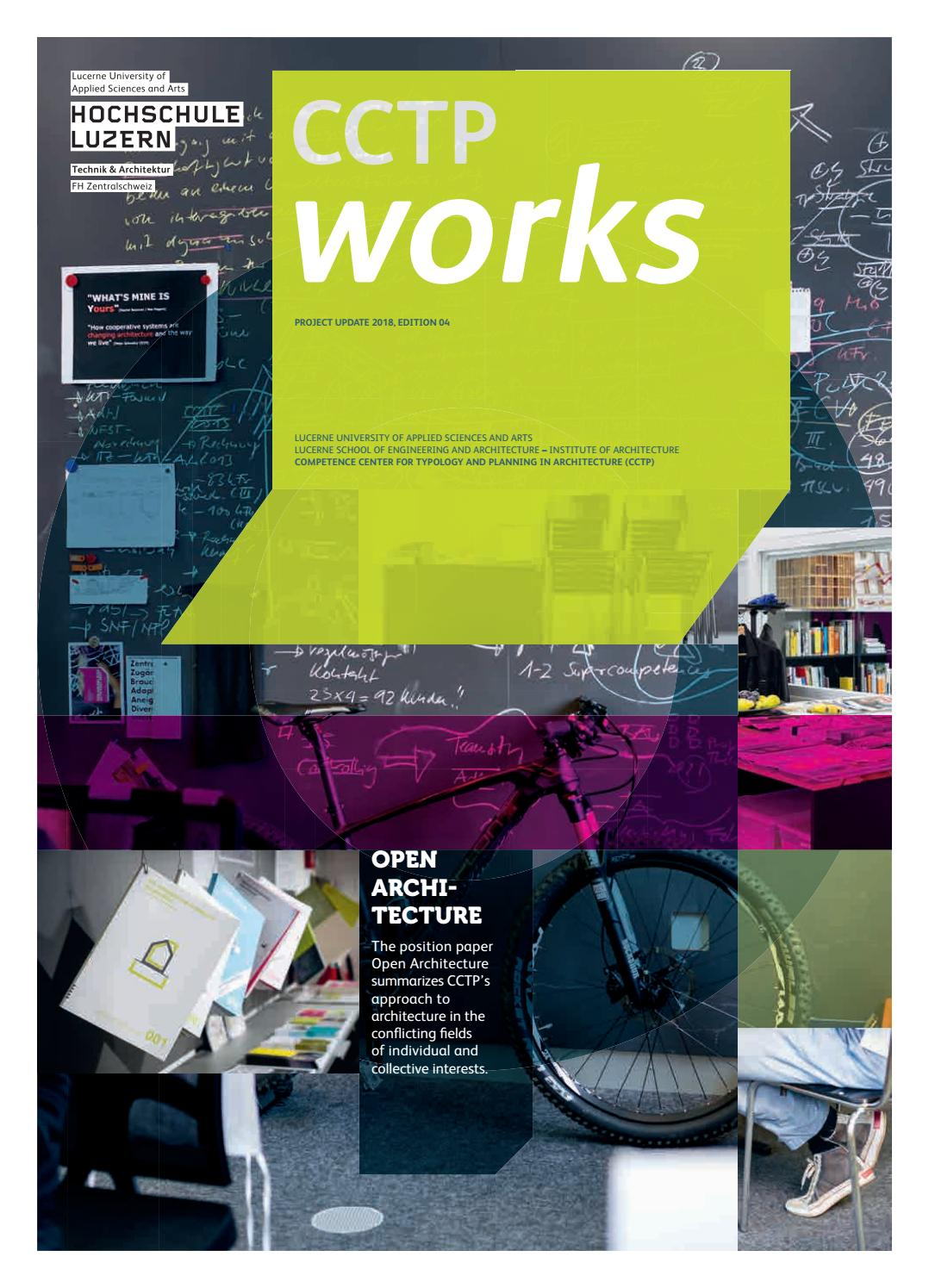Estrichboden Kosten Cctp Works English By Hochschule Luzern Issuu
