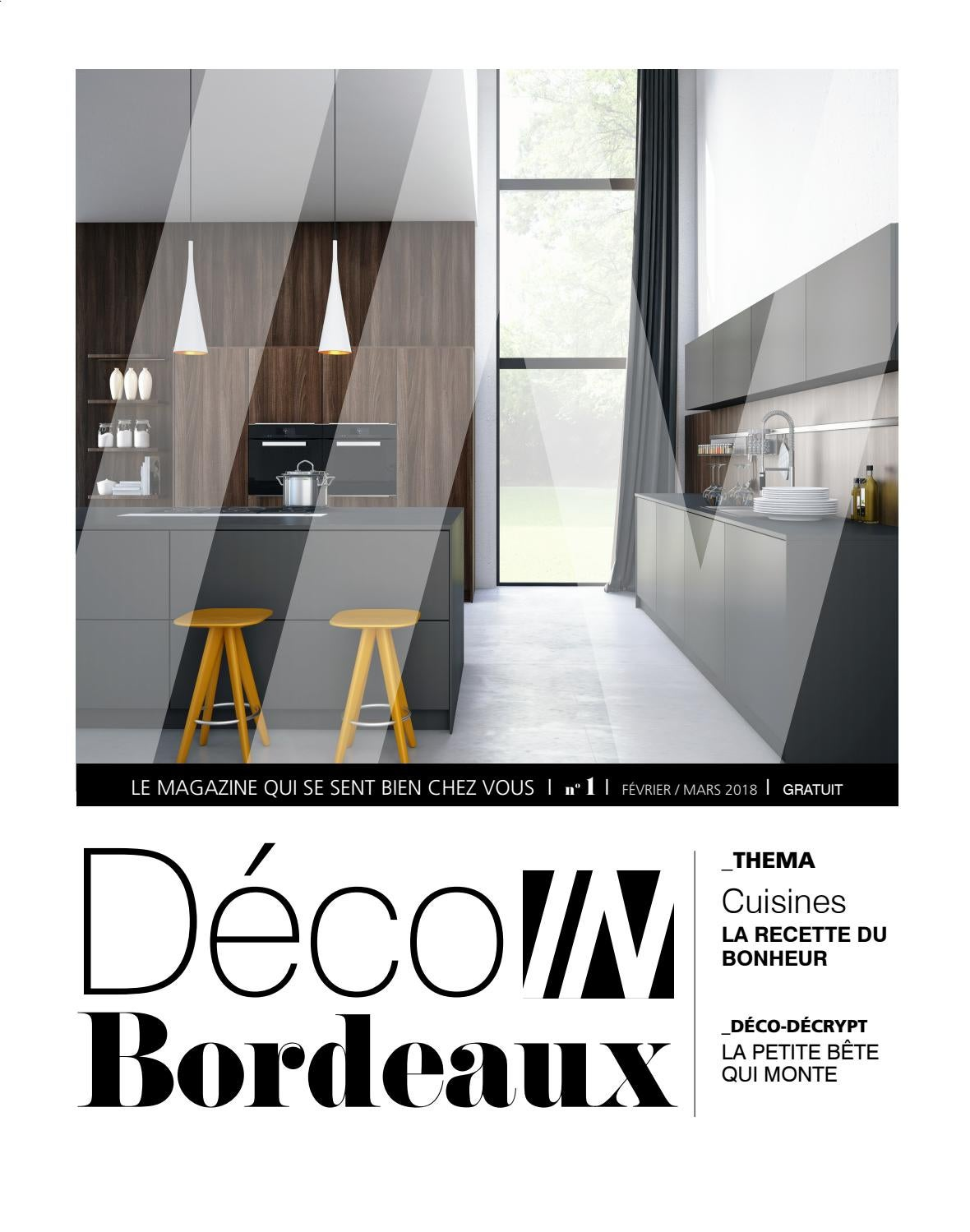 Hybre Architecte Déco In Bordeaux N1 Février Mars 2018 By In Magazines