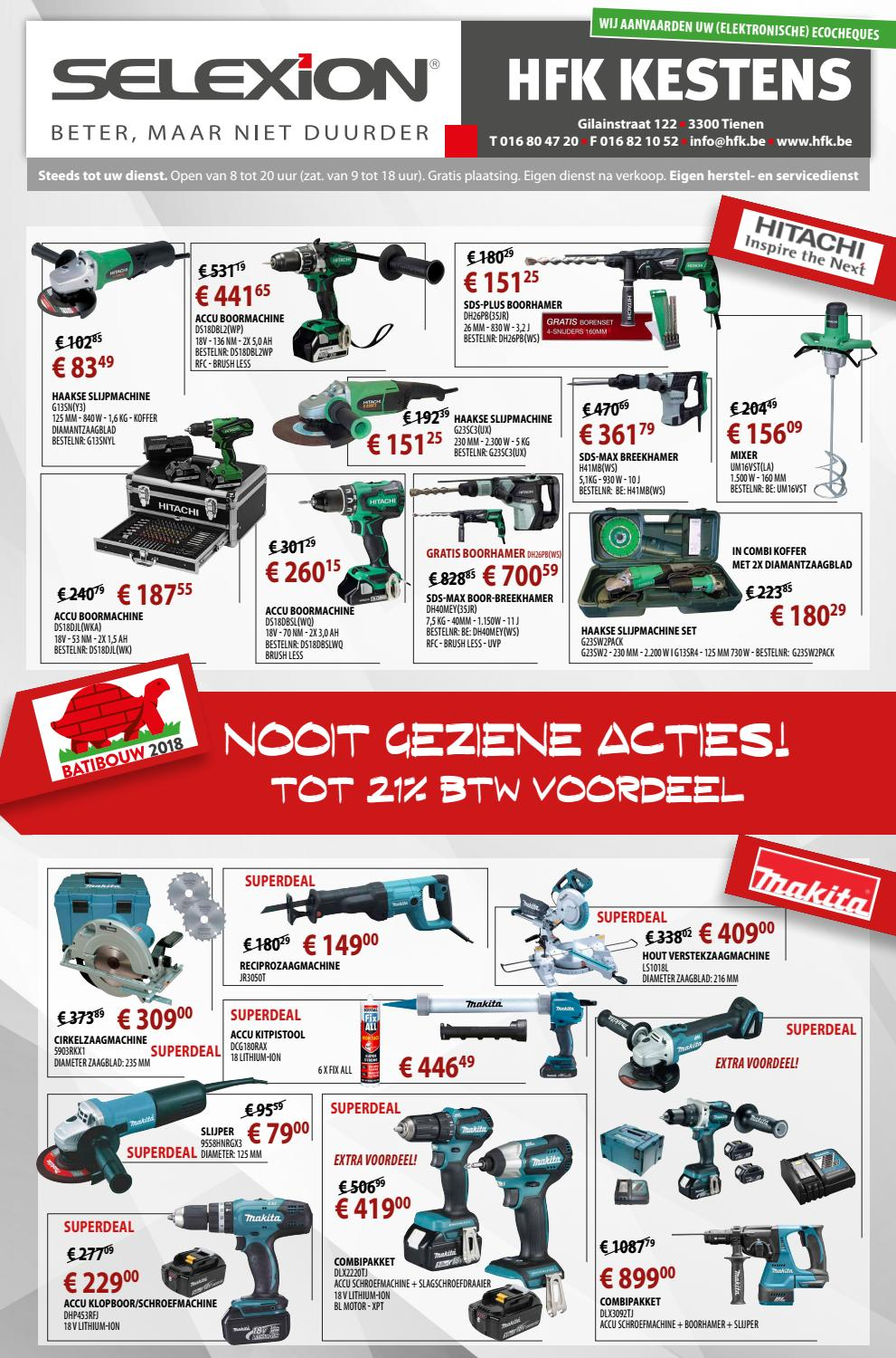 Combi Boorhamer Makita Hitachi Promo 2018 By Yappa Issuu