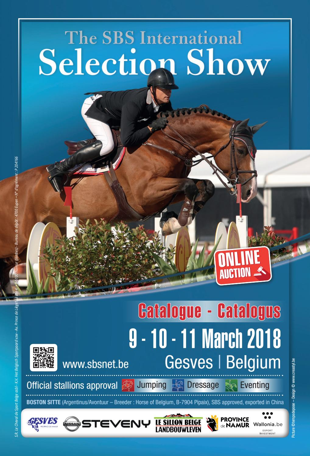 De Vleut Best Catalogue The Sbs International Selection Show By Studbook Sbs Issuu