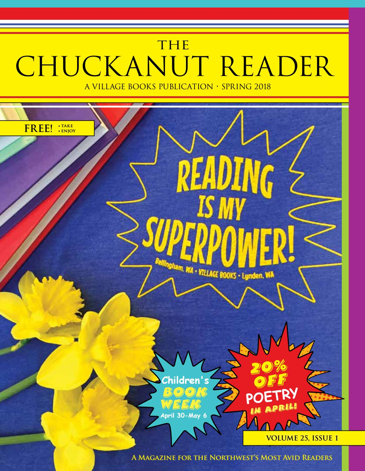 Wicked Libro Chuckanut Reader Spring 2018