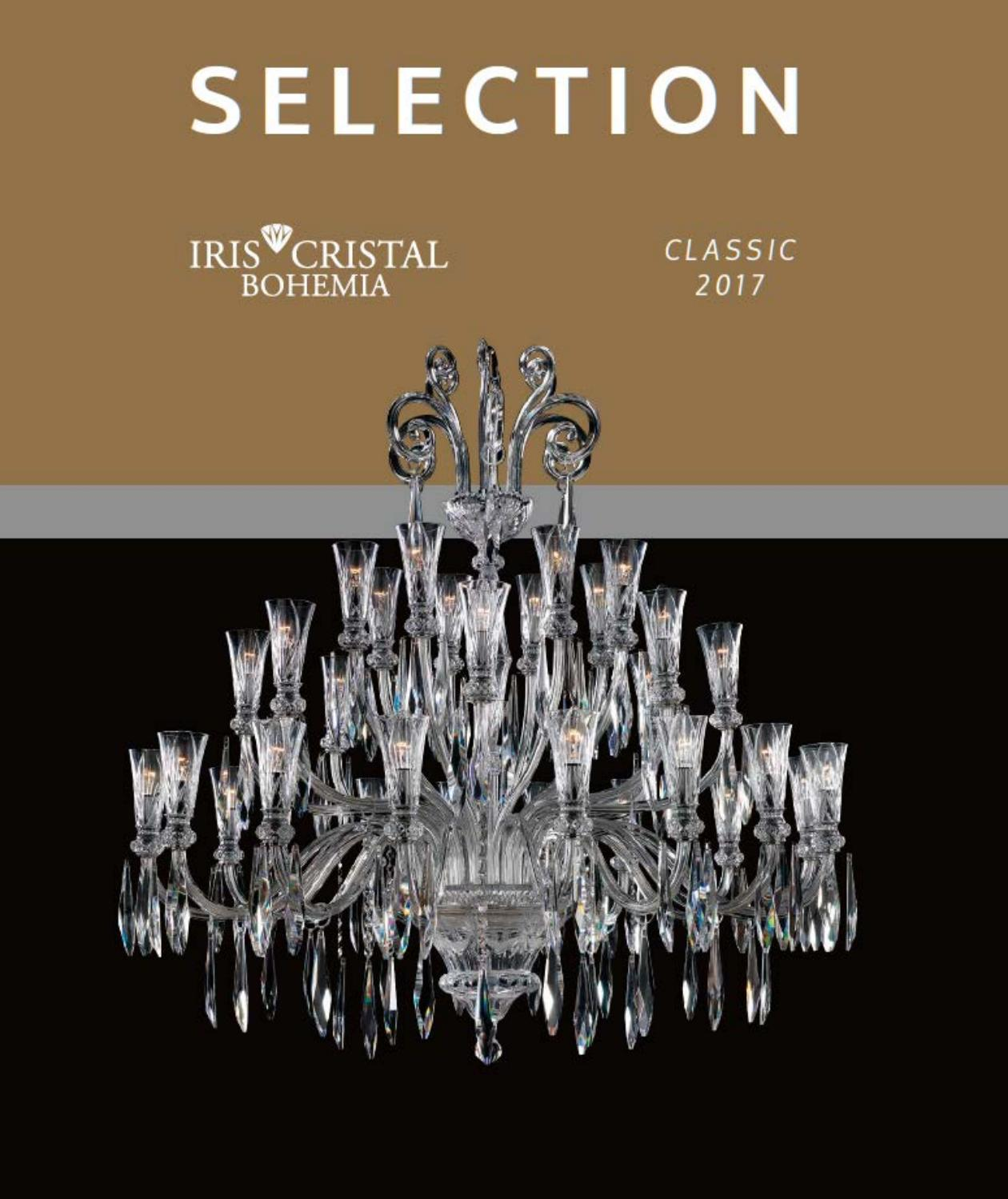 Lamparas De Cristal De Bohemia Iris Crystal Selection Clasico By Larsa Lighting Issuu