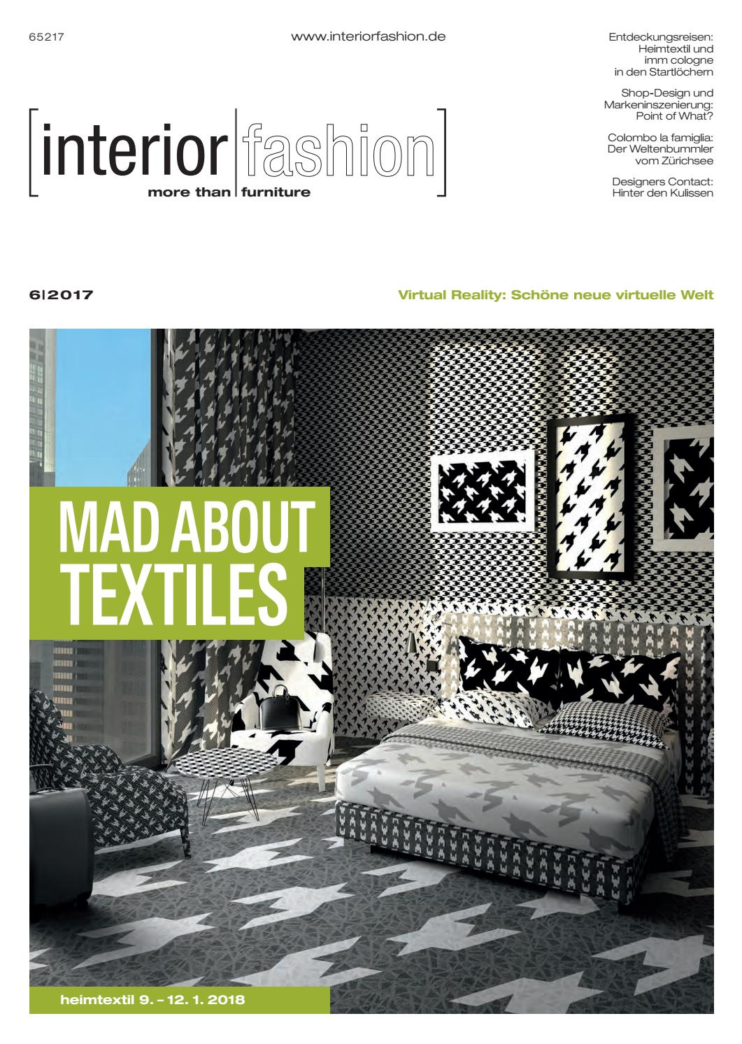 Interiorfashion 6 2017 By Interiorfashion Issuu