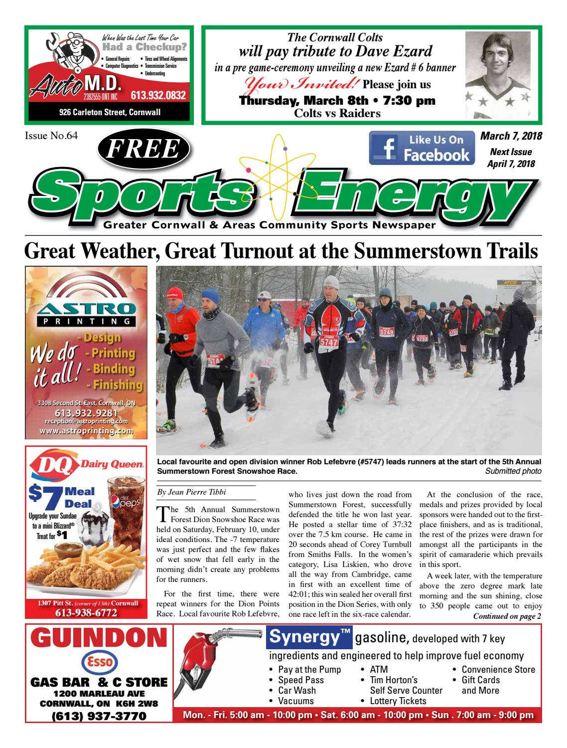 Kijiji Sofa Cornwall Sports Energy News Cornwall Issue No 64 Mike Piquette By