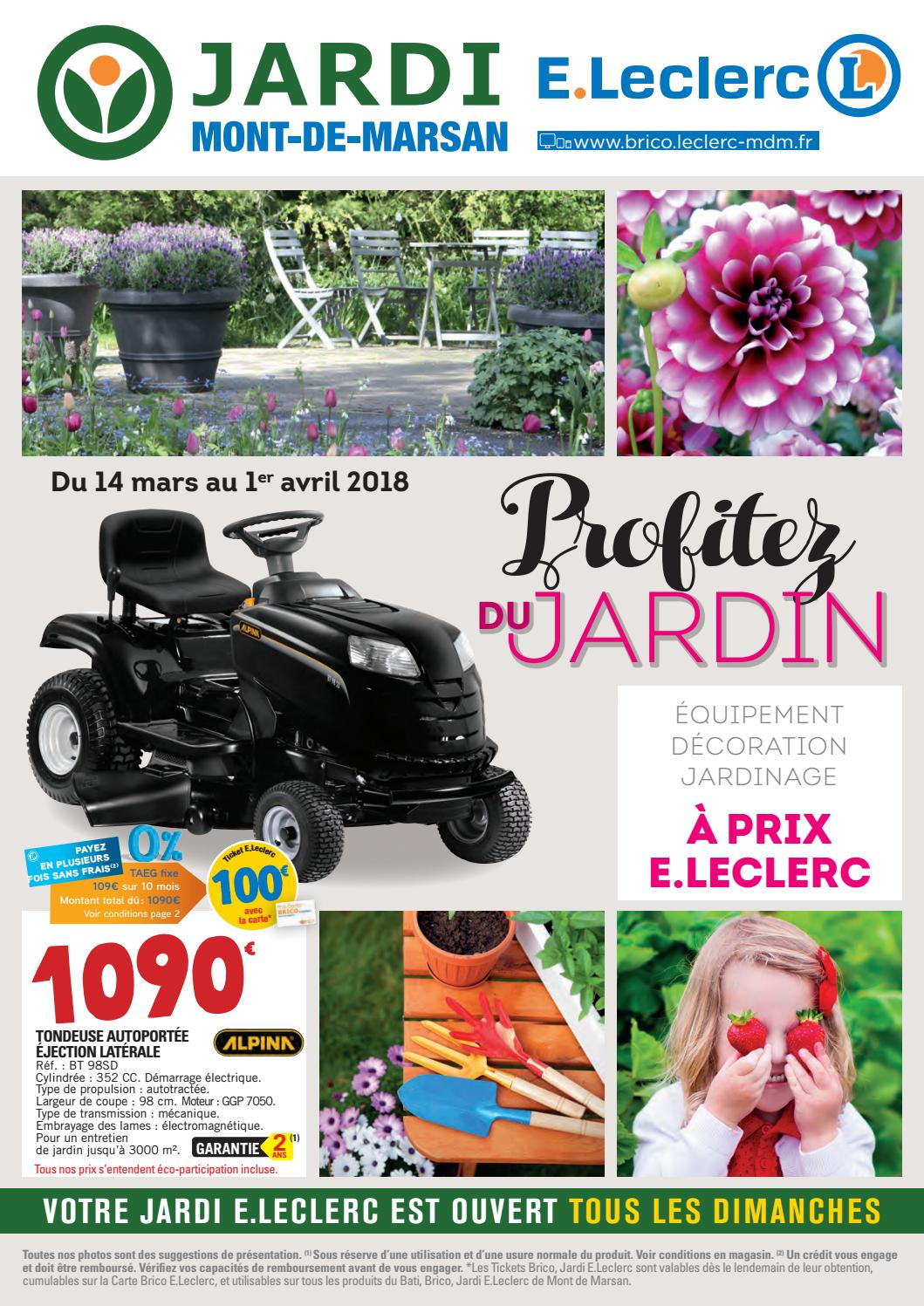 Dalle Exterieur Brico Leclerc Catalogue Jardin Jardi E Leclerc By Chou Magazine Issuu