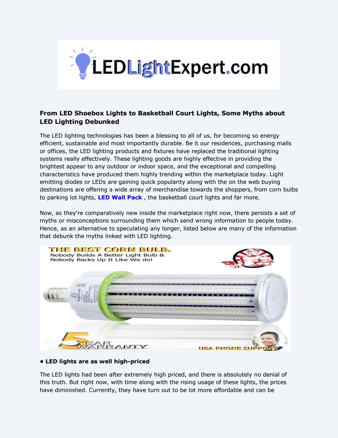 Led Lighting Prices Led Wall Pack Light By Led High Bay Lights Issuu