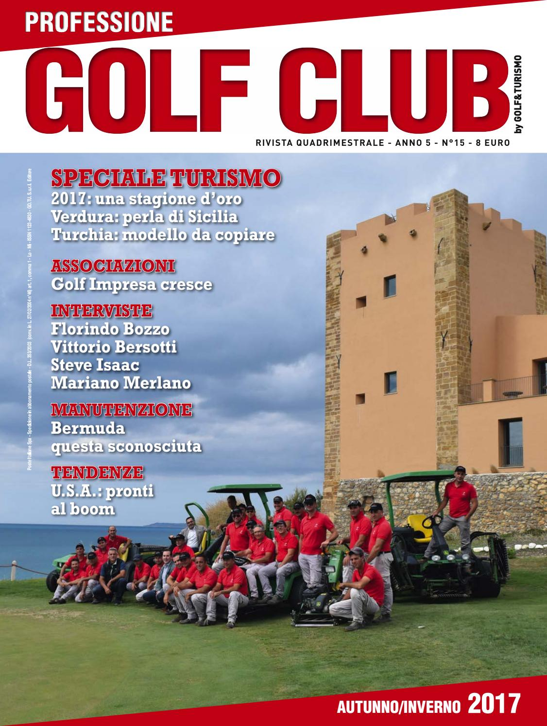 Campo Da Golf Sassari 15 Professione Golf Club Inverno 2017